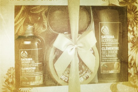Body Shop gift box