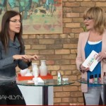 Doin' the frown dance on The Marilyn Denis Show