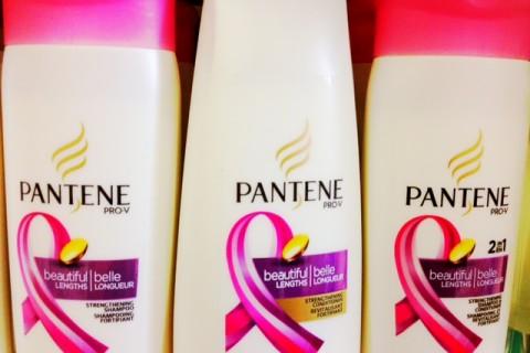 Pantene goes pink
