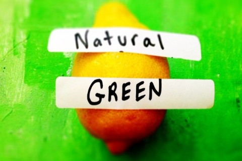 Natural vs green labels