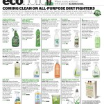 The Dirt on Green Cleaners: a guide to all purpose cleaners