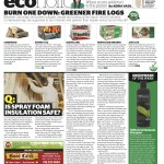 Burning truth about firelogs, foam insulation and Tresemme