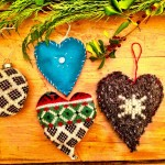 Love Craft: Quick 'n Easy Upcycled Sweater Ornaments