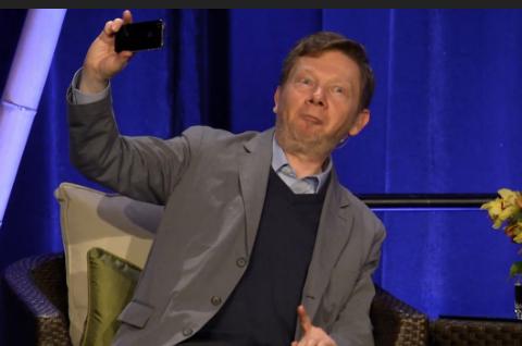 Ekhart selfie