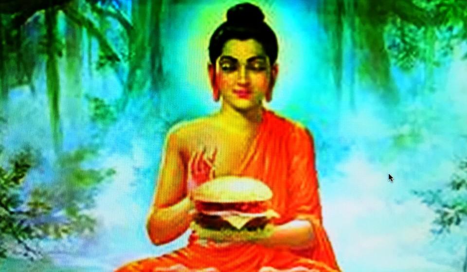 Burger buddha