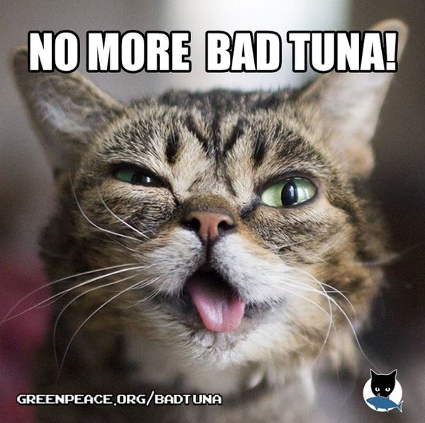 Greenpeace bad tuna